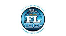 Top 100 Software Providers Award from Food Logistics
