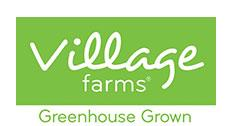 Village Farms logo – greenhouse vegetable grower